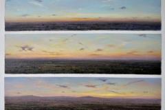 Skywriting, 51 x 40cm, oil on canvas