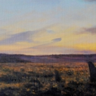 SOLD - Scorhill, 27 x 104cm, oil on canvas.