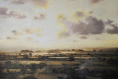SOLD - From Hexworthy, 67 x 65cm, oil on linen