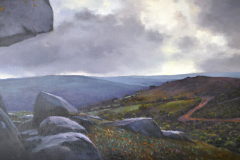 (SOLD) Hard Shelter (2), 42 x 81cm, oil on canvas
