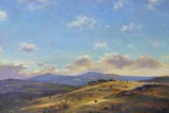 SOLD - Sun & Shadows, 31 x 31cm, oil on canvas