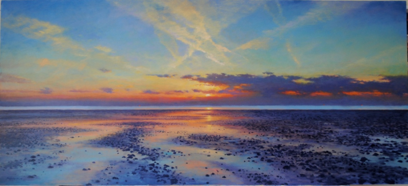 Seasalter Sunset Painting