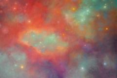 Beyond the Horizon, 107 x 102cm, oil on canvas